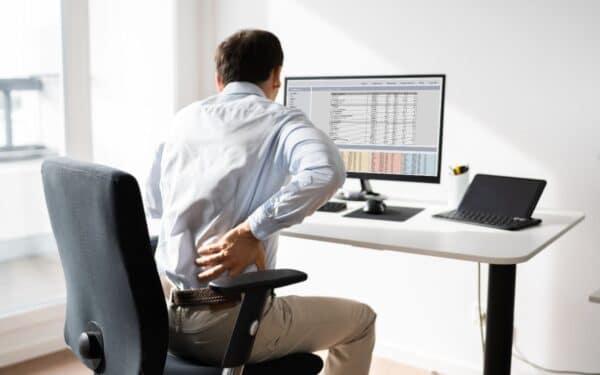 Danos da postura errada no home office